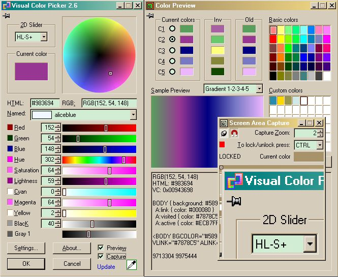 Just Color Picker 2.6